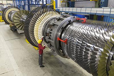 turbine a gas SGT6-8000H