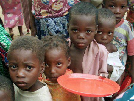 fame nel mondo