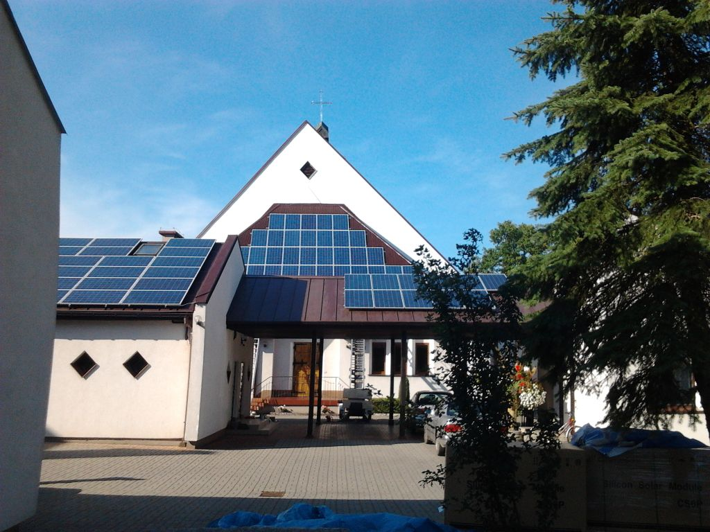 fotovoltaici in chiesa