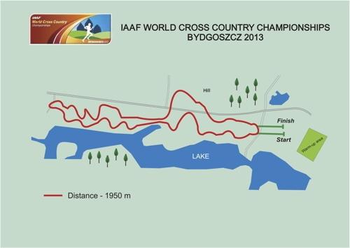 Corsa campestre, a Bydgoszcz i campionati del mondo