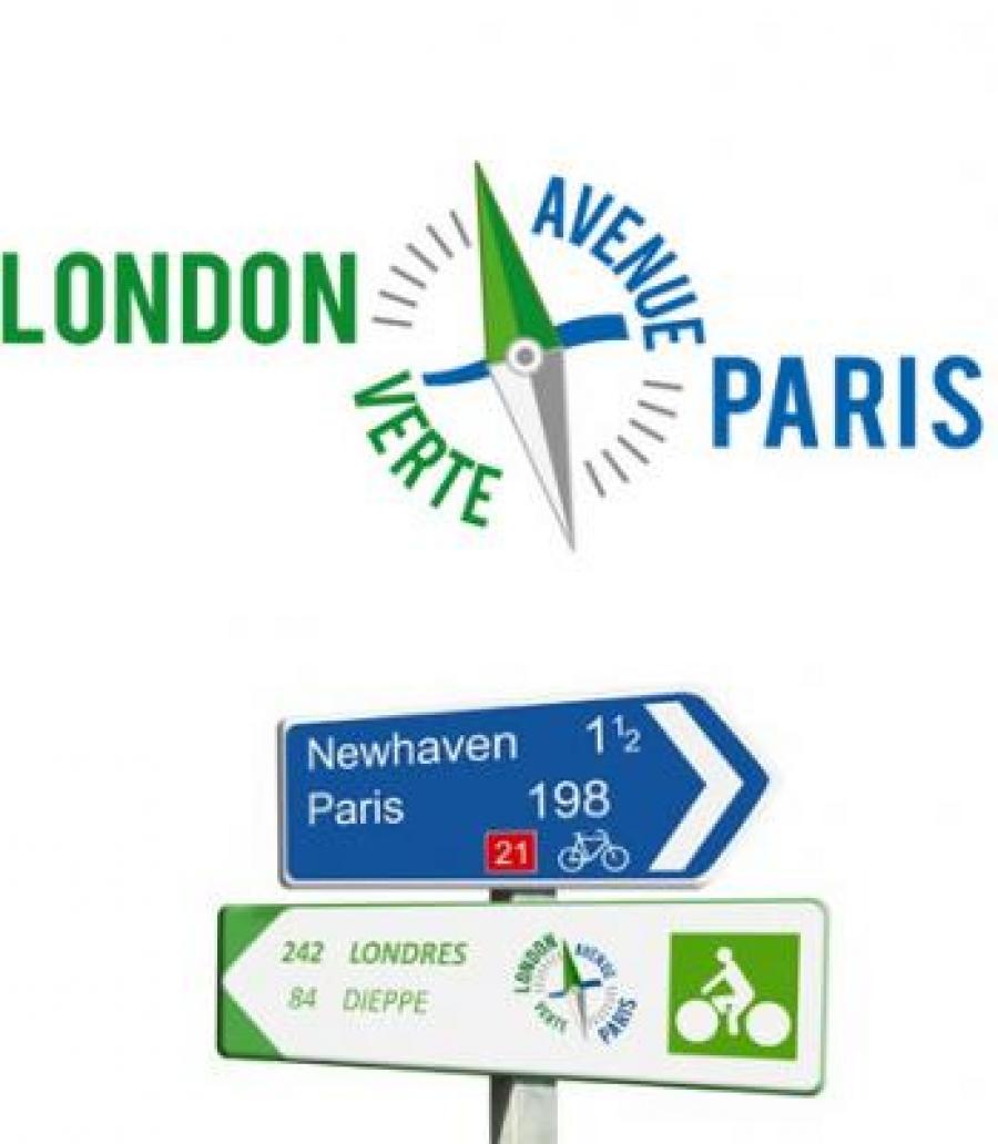 Avenue Verte Parigi Londra ciclabile