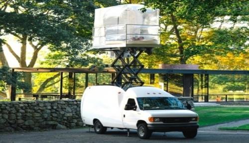 casa mobile e sostenibile Rehearsal Spazio