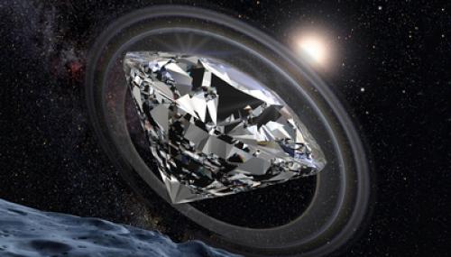 diamante come la terra
