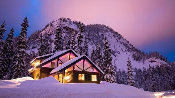 Baita di montagna a natale e capodanno l 39 idea vincente for Le piu belle baite in montagna