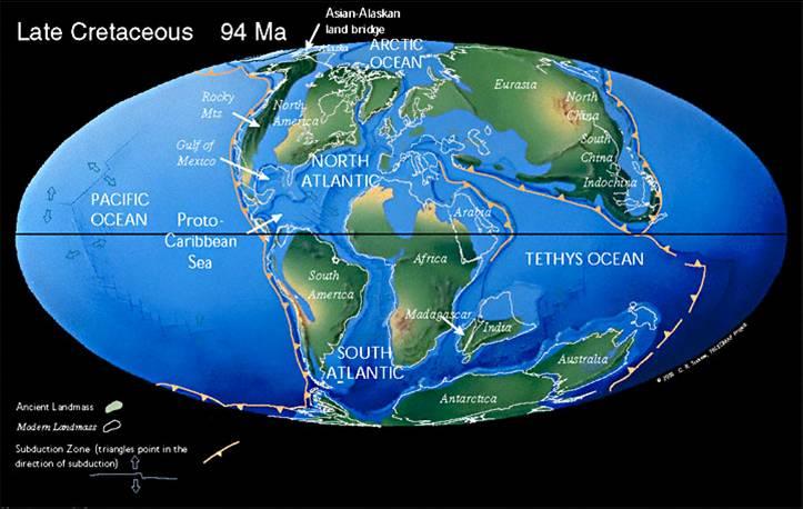 oceani cretaceo