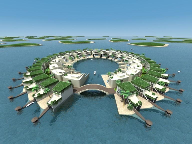isole galleggianti