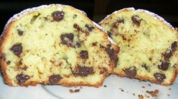 muffin cioccolato e banana