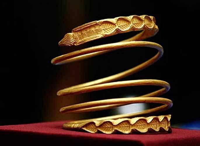 bracciali d'oro in transilvania