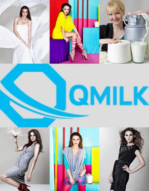 QMilch, tessuti fatti di latte