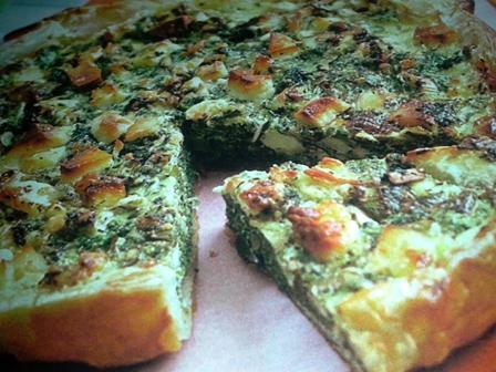 torta salata spinaci e feta