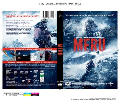 Meru Italy DVD fascetta