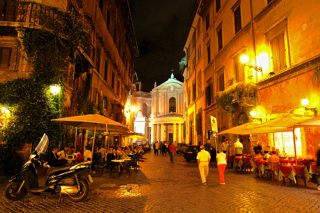 pace alla pace, caffè Roma