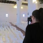 Detalle de la exposición. Cirenaica Moreira