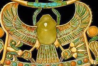 scarabeo di Tutankhamon