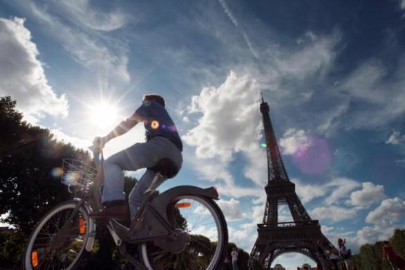 parigi bicicletta