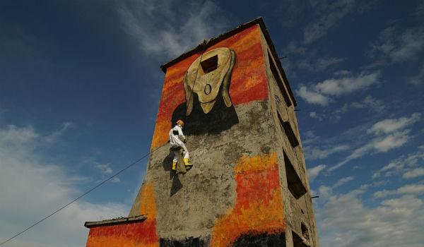 Pasha Cas, l'artista di strada che fa murales per l'ambiente
