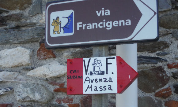 ciclovia francigena cammini