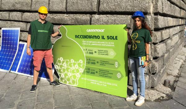 Greenpeace rinnovabili
