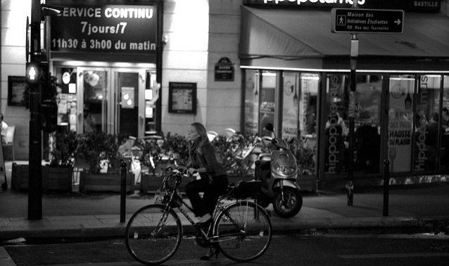 parigi biciclette