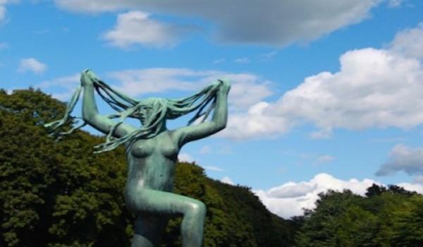 oslo parco di Vigeland