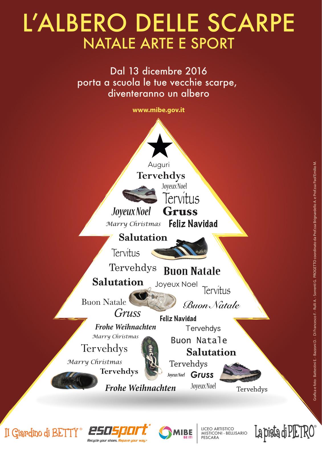 albero delle scarpe esosport