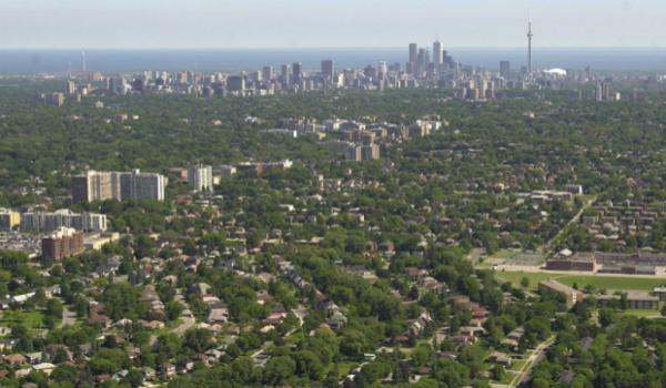 Toronto alberi
