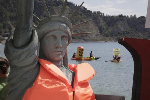 G7, Greenpeace contro Trump