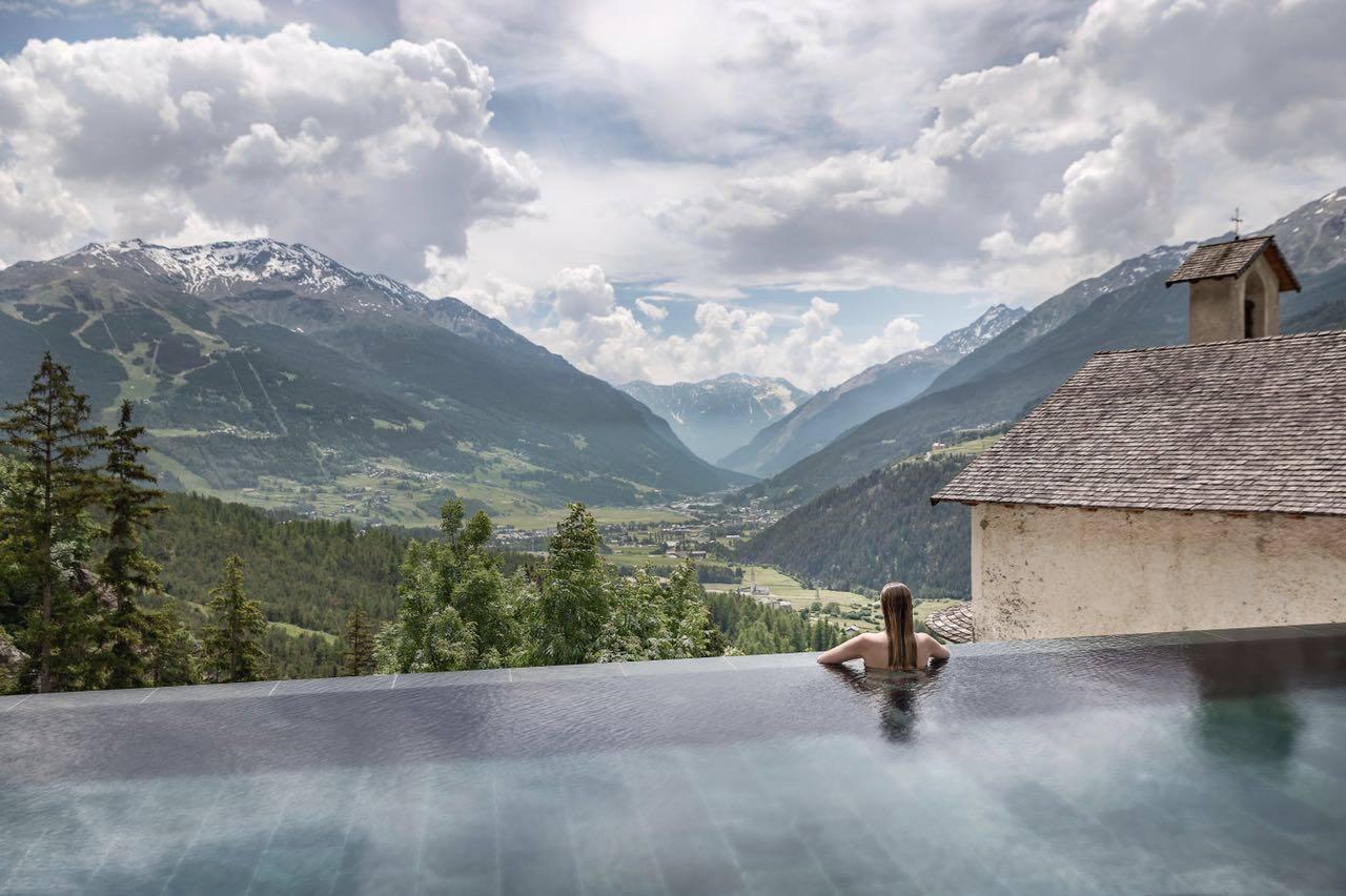 Qc terme riapre la vasca panoramica di bagni di bormio dailygreen