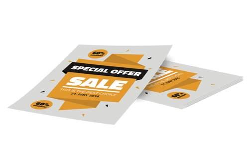 Brochure con stampa digitale riduce l'inquinamento