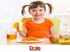 Dole, sette trucchi per il benessere dei bimbi
