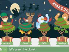 Treedom, quattro alberi da regalare per il Natale