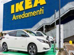 Nissan ed Ikea insieme per la mobilità elettrica