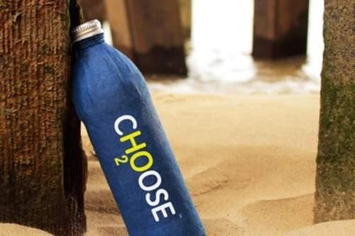 Choose, la bottiglia bio che nutre l'ambiente