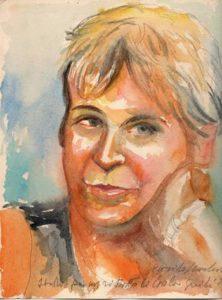 Quarta di copertina del libro di Carla Guidi