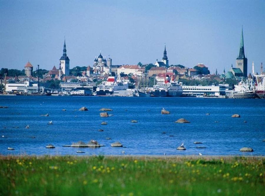 Эстония фото набережная
