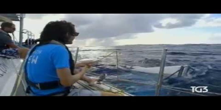 barriere per la plastica in mare