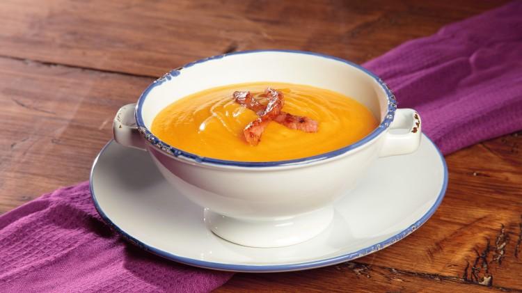 crema di carota speziata