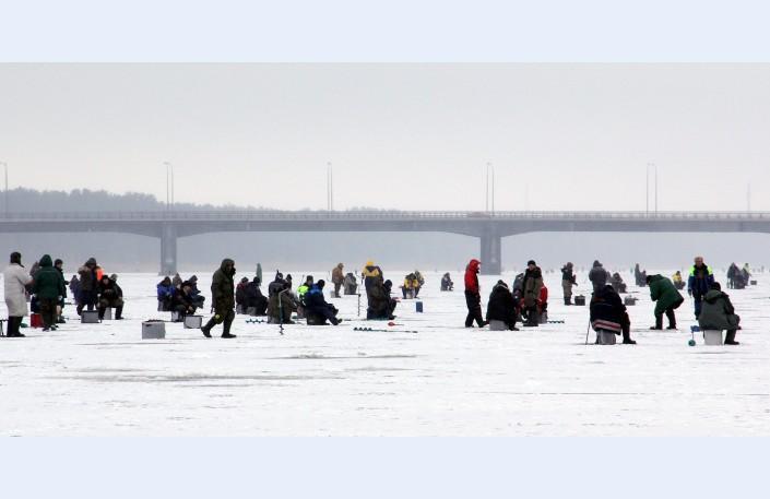 Lastre di ghiaccio in Lettonia