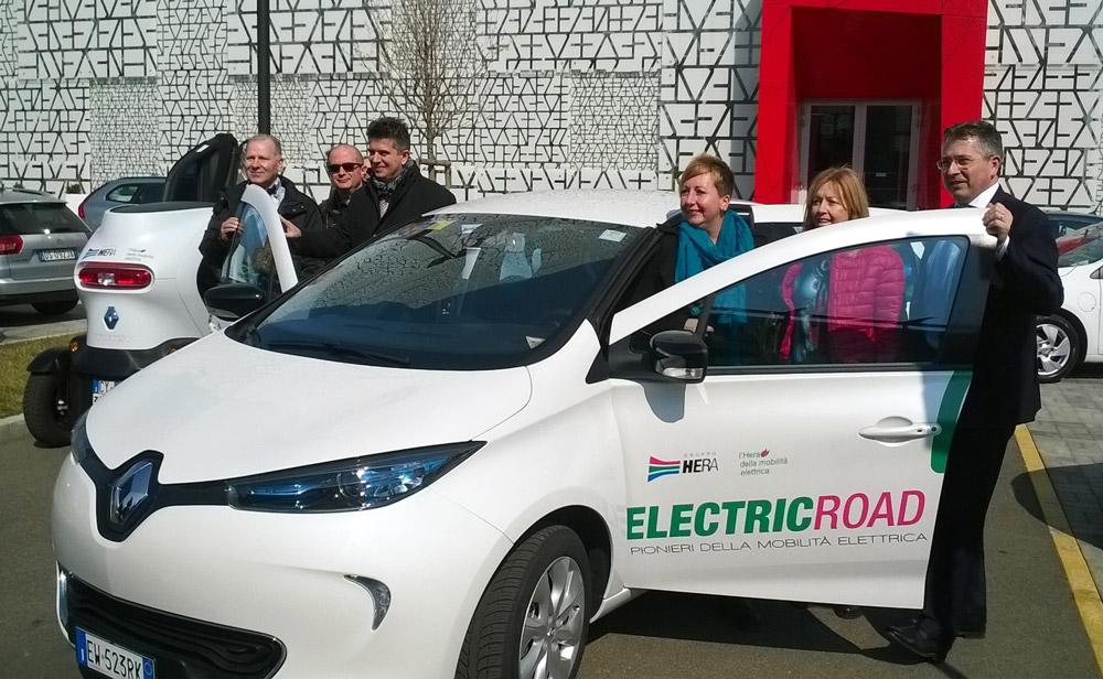 Electric Road Imola