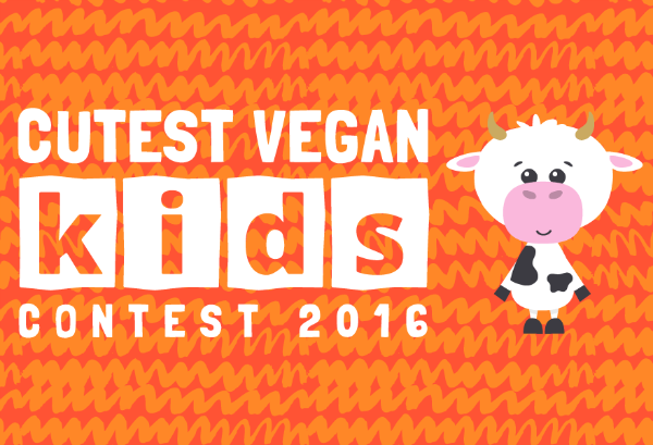 cutest vegan kid's contest