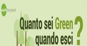 Quanto sei green quando esci