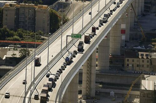 Asfalto sostenibile per il ponte di Genova