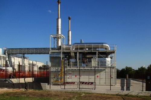 Impianto contro emissioni