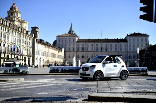 Car sharing Torino